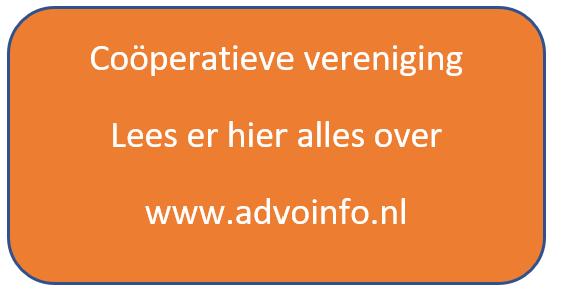 Coöperatieve vereniging in Nederland en België